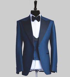 b3c04a2b2322 #ست_منتخب_امروز ست کت شلوار جلیقه و آکسسوار Royal Blue #raadfashionhouse  #ss17 #raadroyalblue · Blue Tuxedo ...