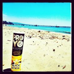 Another day of fun in the sun in Santa Barbara.  ProYo is a high-protein frozen yogurt that delivers real nutritional benefits like 20 grams of protein, probiotics, and fiber, as well as, convenience, & above all, great taste.