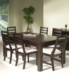 Lake Tahoe Brown Rectangle Dining Table   Lake Tahoe, Room And Side Chair