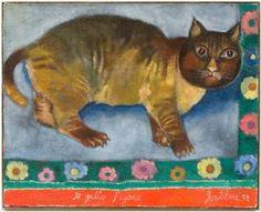 """Franco Gentilini (Italian, 1909-1981) - """"Il gatto Figaro"""" (Figaro the cat), 1978"""