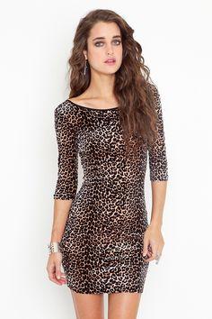 21c68a6dbb leopard velvet dress Leopard Dress