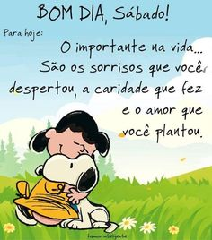 Bom dia Snoopy Frases, Snoopy Love, Favorite Quotes, Thoughts, Humor, My Love, Restore, Alice, Instagram