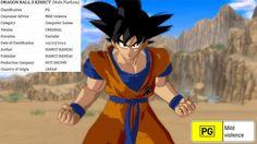 Dragon Ball Z Kinect recebe classificação etária na Austrália