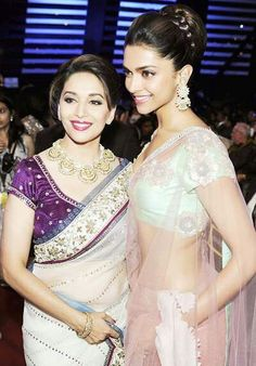 Queens of their times: graciously transferring power... Madhuri Dixit Nene and Deepika Padukone