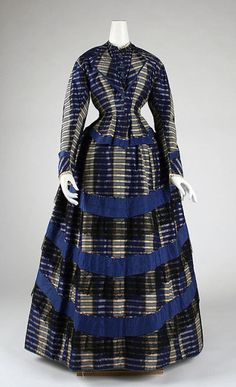 Dress 1870-1871 The Metropolitan Museum of Art