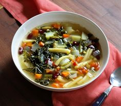 Introducing the most warming, soul and body nourishing winter soup ever: hearty vegan winter minestrone!