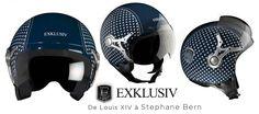 Les casques EXKLUSIV, une collection de casques amusants, détournée de façon arty et street pour tous ceux qui aiment pavaner en couleur en deux roues. Bicycle Helmet, Hats, Collection, Helmets, Baby Born, Color, Hat, Cycling Helmet