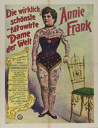 Vintage Circus SideShow Poster 1904