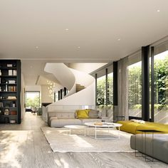 """""""We have just been commissioned to design an inner urban residence that is inspired by our Victoria St design. This project has all the ingredients of one…"""""""