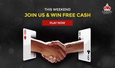 This Weekend Join Us and Win Free Cash. Play Now!   https://www.classicrummy.com?link_name=CR-12  #rummy #classicrummy #weekend #onlinerummy #freerummy #rummycards #cardgames #freecash #playrummy #Indianrummy