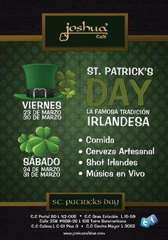 Nos gusta tanto la fiesta de St. Patrick, que la celebraremos durante dos fines de semana!!!     St. Patrick's Day 2012.