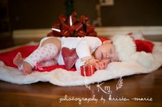 So cute...wonder if we could move the boys out (after they fall asleep) and stick them under the tree some night? :)