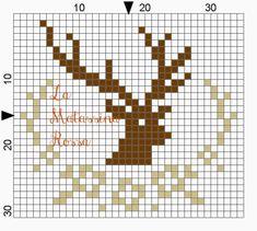 Cross Stitch Christmas Ornaments, Xmas Cross Stitch, Cross Stitch Boards, Cross Stitch Art, Cross Stitch Animals, Christmas Embroidery, Christmas Cross, Cross Stitch Designs, Cross Stitching