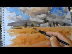 Summer Sketches Watercolor-2ªparte-Bocetos de verano - YouTube