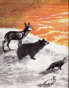 """""""The Day the Sun Dance"""" by Edith Thacher Hurd, illustrated by Clement Hurd."""