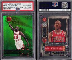 online store bcaca 5d8b6 Una carta de edición especial de Michael Jordan se subastó por 350.100  dólares