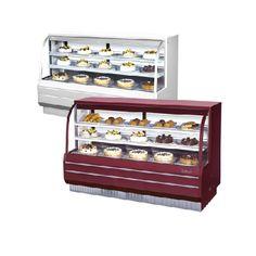 Gabinetes para Postres No Refrigerados (184 cm)- Non Refrigerated Dessert Cabinets (184 cm)