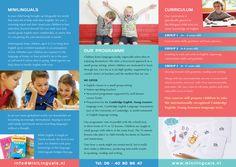 Minilinguals Leaflet (Inside)
