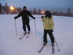 Ski in Lapland, Finland .  Saariselkä activities http://www.saariselka.com/individual/activities