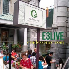 "Montréal, Québec Canada www.crudessence.com ​""​Crudessence is proud to be serving  E3Live in its 5 restaurants and health counters. As a company that promotes health and vitality, it is clear that the E3Live has to be a full part of those quality foods that we offer to our clients who aspire to the same well-being as we do. At Crudessence, we think that E3Live is a must for every person who's aiming to make the most out of their lives by eating a clean, vibrant and powerful diet. ​"""