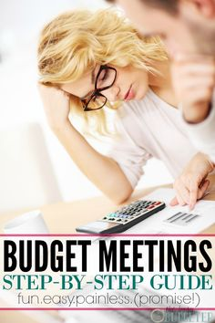 Budget Meetings 101- Step by Step Instructions. Love this! We needed to do this so bad! We've put if off for years. He has no idea what's going on with our money and so he'll spend it. It drives me nuts and leads to major fights. I'm looking forward to this! I have our first meeting set and I did all prep work, fingers crossed!
