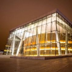 OPERAHUSET, OSLO OPERA HOUSE  Is the home of The Norwegian National Opera and Ballet, and the national opera theatre in Norway. The building is situated in the Bjørvika..