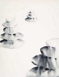 Original Abstract Painting by Jennifer Thangavelu Watercolor Paintings, Original Paintings, Original Art, Abstract Styles, Abstract Art, Water Symbol, Zen Symbol, Medium Art, Buy Art