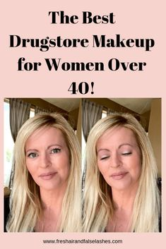 The Best Drugstore Makeup for Women Over 40 ~ Fresh Air and False Lashes - Care - Skin care , beauty ideas and skin care tips Makeup Tips Over 40, Makeup Tips For Older Women, Beauty Makeup Tips, Beauty Skin, Eye Makeup, Beauty Hacks, Hair Makeup, Makeup For Mature Skin, Makeup Goals