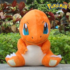 Pokemon Plush Toy Charmander 11 Collectible Game Figure Stuffed Animal Doll for sale online Big Stuffed Animal, Cute Stuffed Animals, Baby Animals, Dinosaur Stuffed Animal, Pokemon Charmander, Nintendo Pokemon, Pikachu, Homemade Stuffed Animals, Plush Dolls