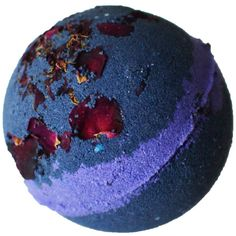 Bombshell Bath Bomb Boudoir Midnight Howl with Rose Petals Cruelty... (30 AUD) ❤ liked on Polyvore featuring beauty products, bath & body products and body cleansers