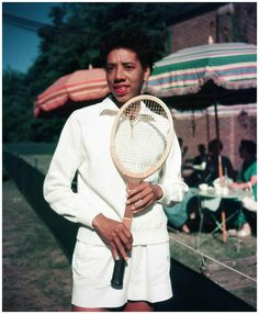 Althea Gibson (August 25, 1927 – September 28, 2003) was an American tennis player and professional golfer, and the first black athlete of either gender to cross the color line of international tennis.