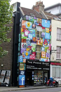 Mobile repair shop in Bristol.