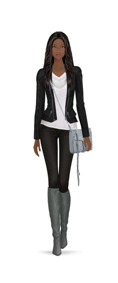 Covet Fashion Game, my first 5 star rating!