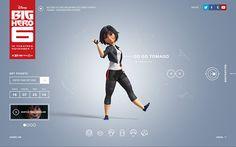 Designs for Disney's Big Hero 6.