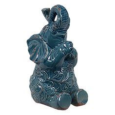 Small Elephant Statuette
