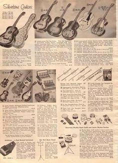 Musical Instruments - 1956 Sears Wishbook