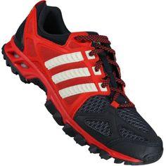 c56175a6112 Tênis Adidas Kanadia TR 6 Adventure Masculino Vermelho   Chumbo