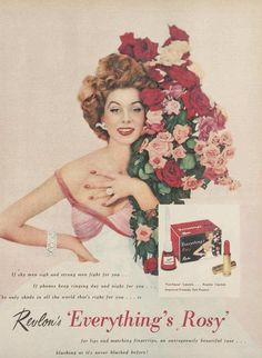 REVLON.....'Everything's Rosy', 1954