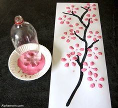 Craft of the Week: 5 Easy Spring Crafts for Kids - Home Made Modern #eastercraftsforkidseasy