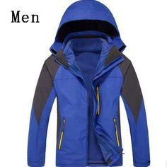 OUTDOOR CLOTHING MOUNTAINEERING JACKET MEN WOMEN COAT CAMPING FISHING CLOTHING WATERPROOF BREATHABLE JACKET
