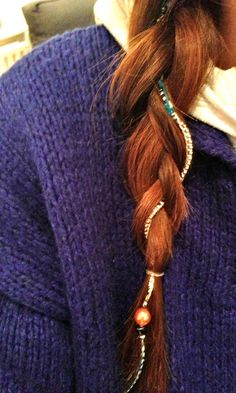 Bohemian Hair Wrap tutorial  A fun way to get ready for the beach during our long car ride!