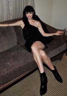 Krysten Ritter and her magnificent crossed legs