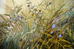 Summer Field (detail) Kate wells