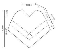 A Wistful Dream / DROPS 176-16 - Poncho con patrón de calados y cuadrados a ganchillo, tejido de arriba abajo en DROPS Belle. Tallas S - XXXL. - Free pattern by DROPS Design