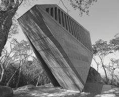 Sunset Chapel, Acapulco, Mexico, 2011 by Bunker Arquitectura. (Photo: Courtesy Bunker Arquitectura) Starkly Beautiful Brutalist Buildings, Photographed in Black and White | Atlas Obscura