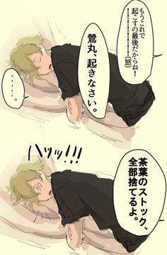 【刀剣乱舞】寝ている鶯丸の簡単な起こし方(歌仙)【とある審神者】 : とうらぶ速報~刀剣乱舞まとめブログ~