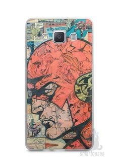 Capa Capinha Samsung A7 2015 The Flash Comic Books