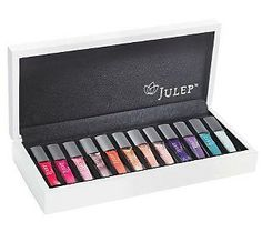 The #StatementNail Trend: Julep Favorite Things 12-piece Nail Color Keepsake Box #QVCBeauty
