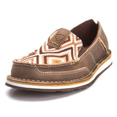 8d11a27636f0 Ariat Womens Tan Aztec Bomber Cruiser Shoes Cowgirl Outfits, Western  Outfits, Casual Outfits,