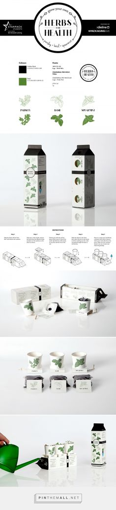 Herbs for Health on Behance by Duncan Anderson curated by packaging Diva PD. Project created for entry into the Starpack packaging awards The design won a gold medal. Food Packaging Design, Beauty Packaging, Packaging Ideas, Packaging Awards, Red Dot Design, Graphic Design, Herbs For Health, Hooch, Design Competitions